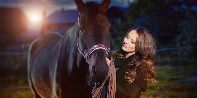 Сертификат Фотосессия с лошадьми