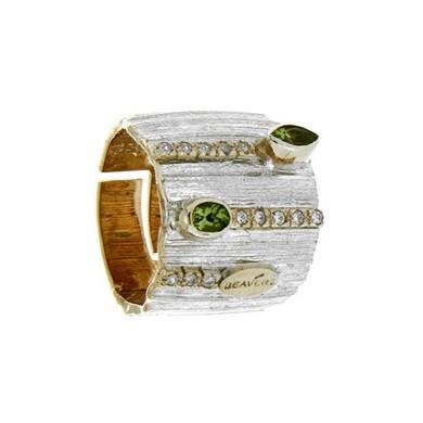 Кольцо из серебра «Beavers»