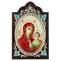 Икона с образом Богородицы Казанской