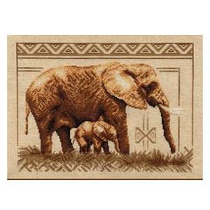 Набор для вышивания «Слоны»