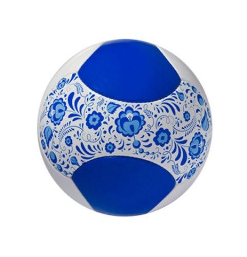 Сувенирный футбольный мяч Гжель
