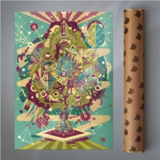 Постер Meditation (винтаж)