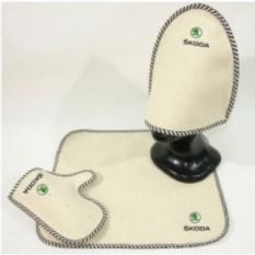 Комплект для бани с логотипом Skoda