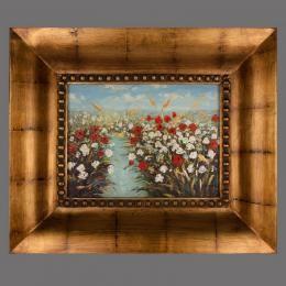 Картина «Поле в цвету», холст, масло