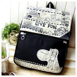 Рюкзак Give fun (черный)