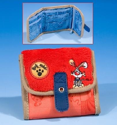 Красный кошелек Bibompl