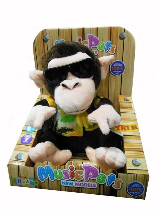 Интерактивная игрушка Диджей-обезьянка
