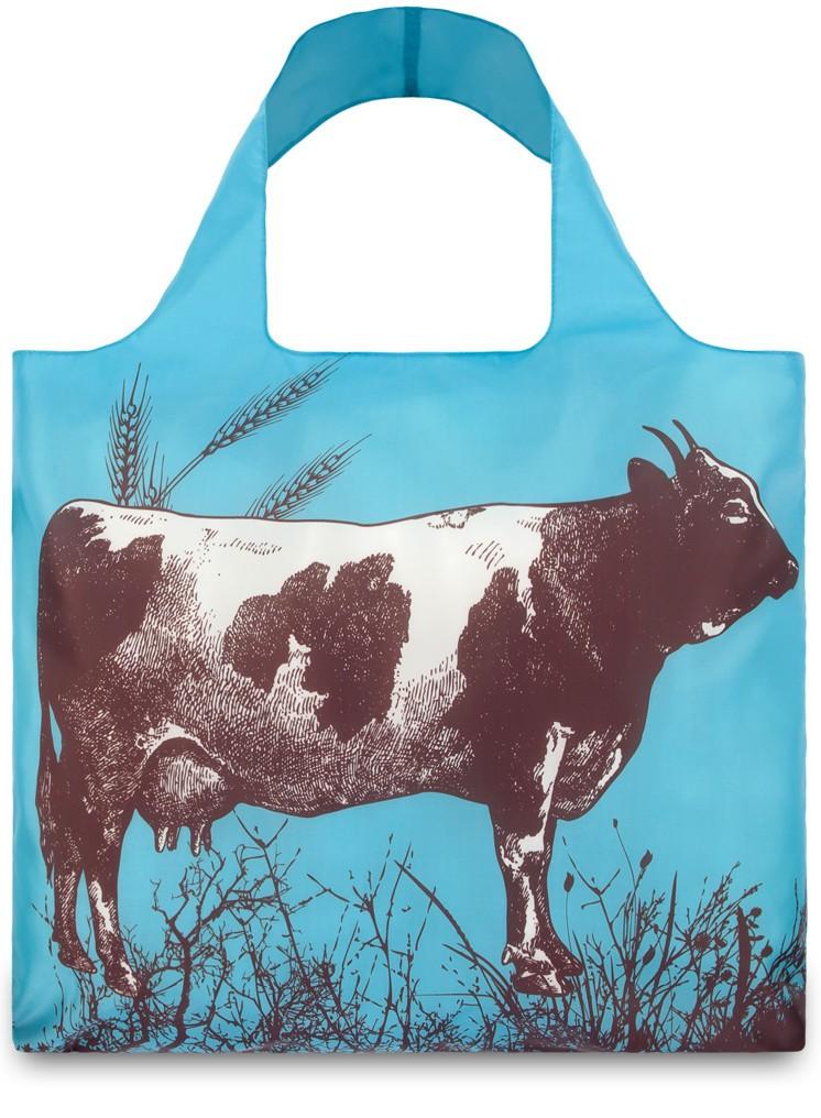 Складная сумка LOQI FASHION Farm Cow
