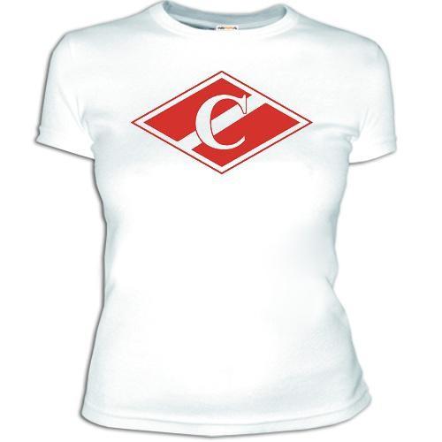 Женская футболка Спартак