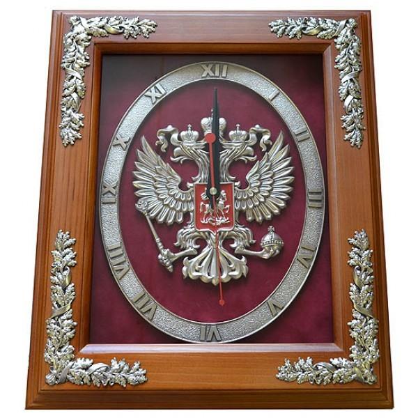 Часы с символикой Герб России