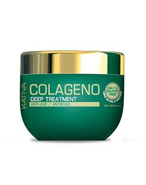 Интенсивный коллагеновый уход KATIVA для всех типов волос COLAGENO, 250 мл