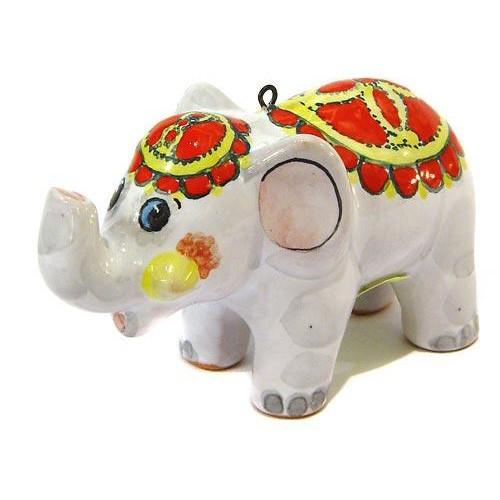 Ёлочная игрушка Слоненок