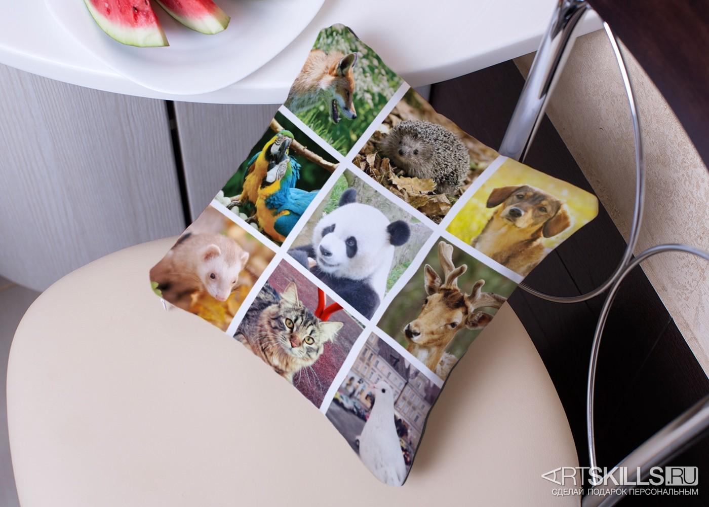 Оригинальная подушка Instasleep с вашими фотографиями