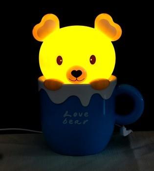 Настольная лампа-ночник «Медвежонок»