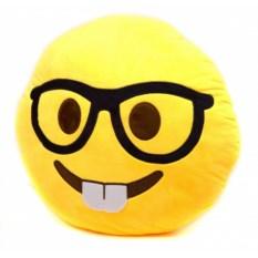 Подушка Смайлик очкарик-зубастик