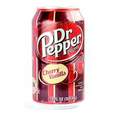 Газировка Dr. Pepper Cherry Vanilla