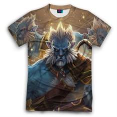 Мужская футболка 3D с полной запечаткой Phantom Lancer