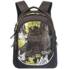 Темно-коричневый молодежный рюкзак Grizzly
