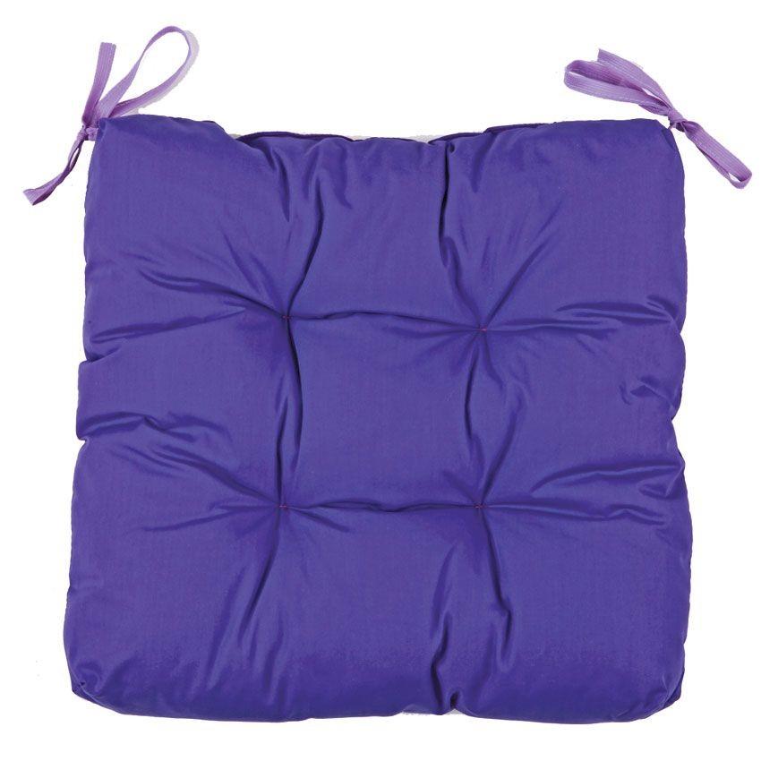 Подушка для стула (Цвет: фиолетовый)