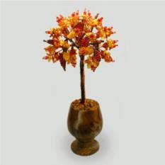 Дерево из янтрая Янтарное счастье