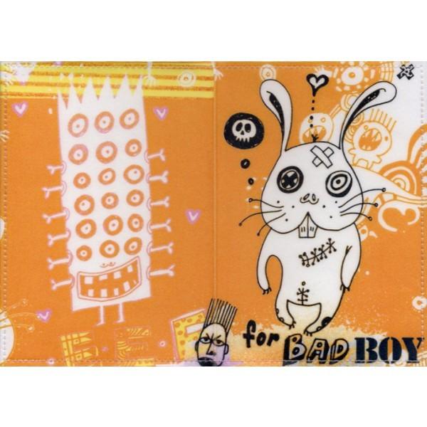 Обложка паспорт For bad boy