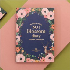 Синий ежедневник Blossom Diary