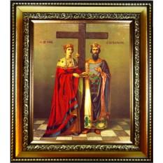 Икона Елена и Константин. Святые равноапостольные