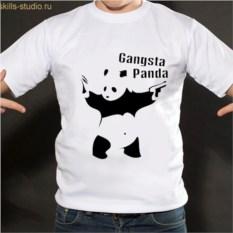 Футболка Ганста панда