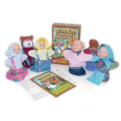 Кукольный театр «Маша и медведь»