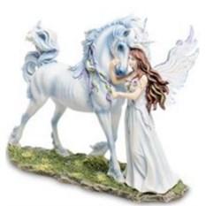 Статуэтка Ангел и единорог