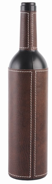 Набор аксессуаров для вина в футляре в форме бутылки
