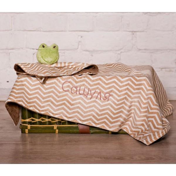 Комплект для сна Лягушка-соня с именем малыша