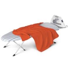 Гладильная доска с подставкой под утюг Folding Ironing Board
