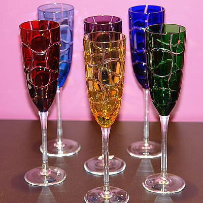 Бокалы для шампанского «Кольца»
