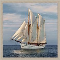 Постер Морские путешествия. Парусник