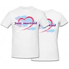 Комплект футболок Just Married