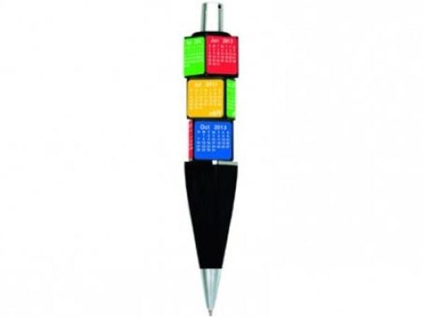 Шариковая ручка «Календарь» с вращающимися кубиками