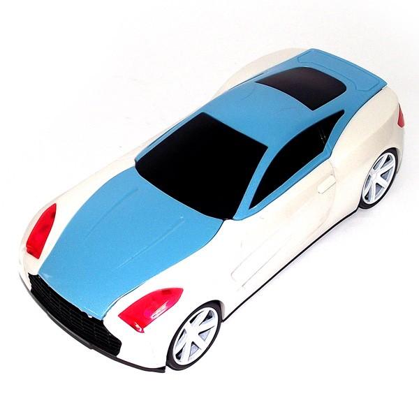 Светильник Автомобиль (сине-белый)