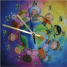 Часы с кристаллами Swarovski Дружба народов