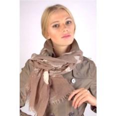 Светло-коричневый женский палантин Fiona Fantozzi