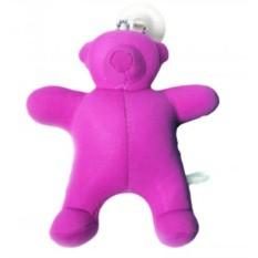 Брелок антистресс Медвежонок розовый