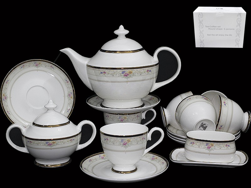 Чайный сервиз Лагуна из 18 предметов