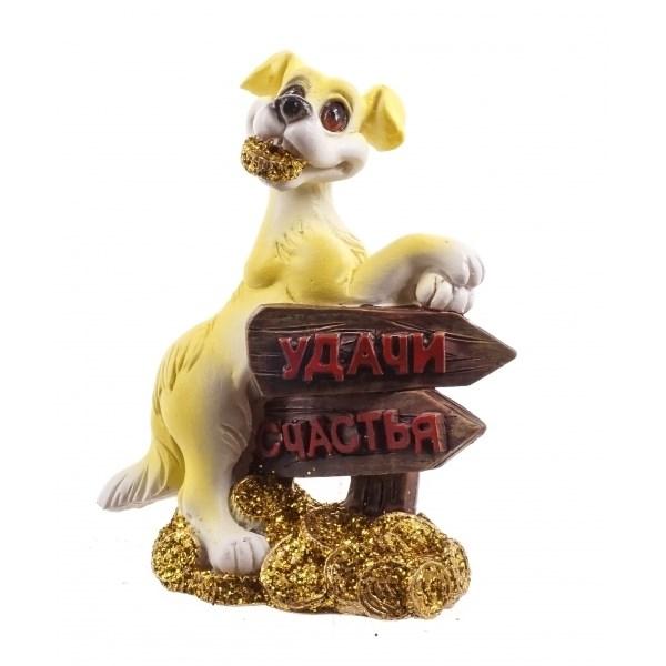 Декоративная фигурка Собачка на удачу