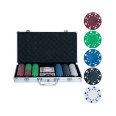 Набор для покера на 300 фишек без номинала Lite