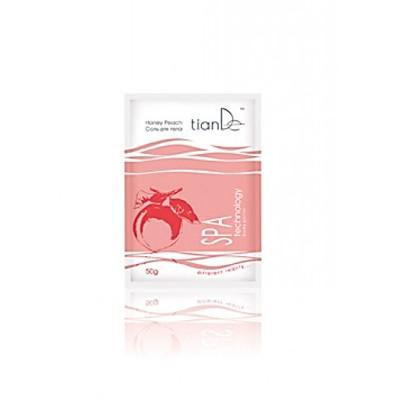 Соль для тела Медовый персик Tiande