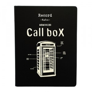 Блокнот-органайзер Call box, серия Retro