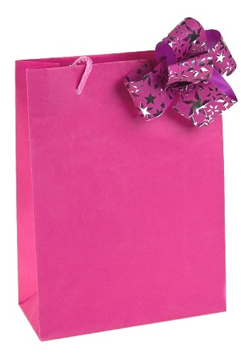 Пакет Классик розовый