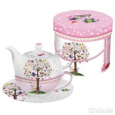 Чайный набор в подарочной коробке Love tree