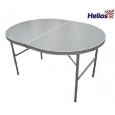Складной овальный стол Helios