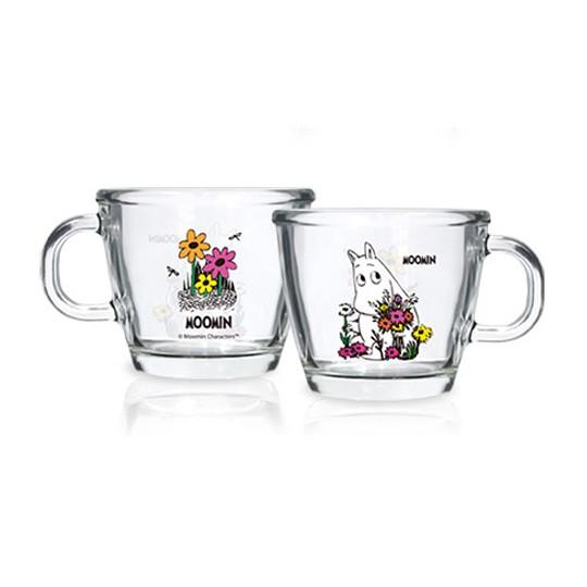 Набор из 2-х чашек Moomin Flowers